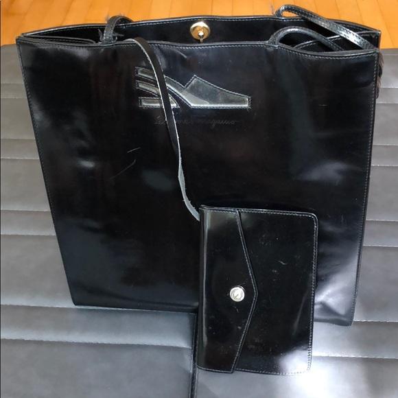 Salvatore Ferragamo Handbags - Ferragamo vintage purse